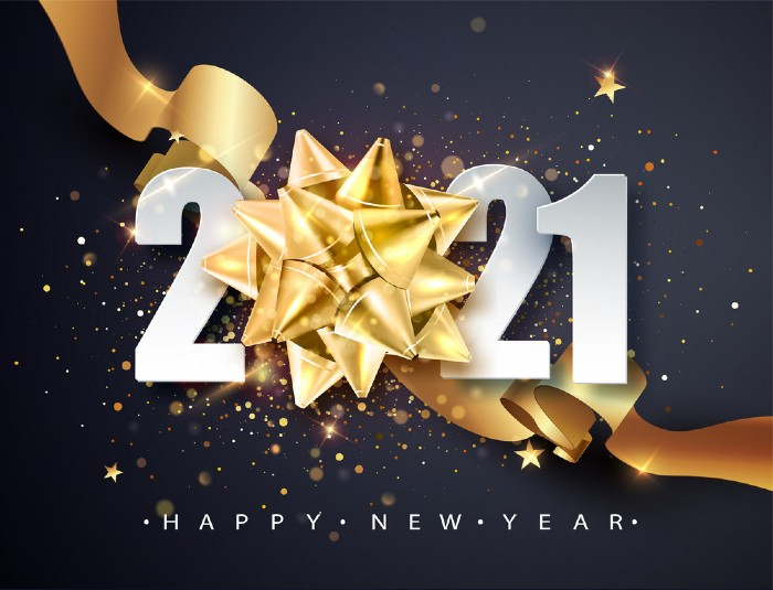 New year 2021 best wishes image