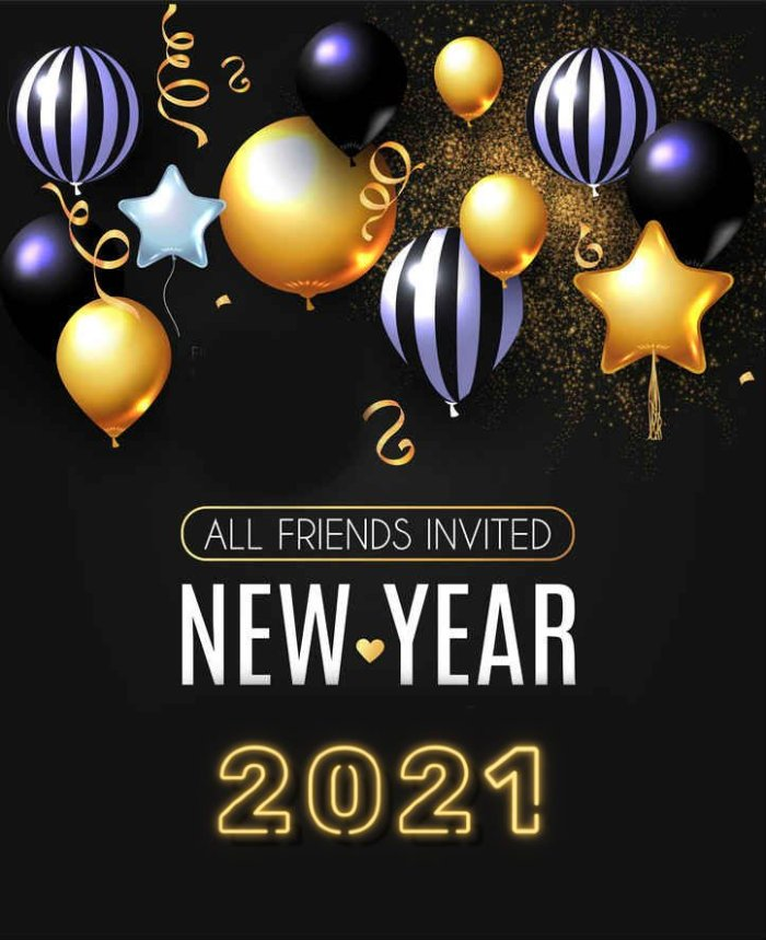 Happy New Year 2021 Images for Friends