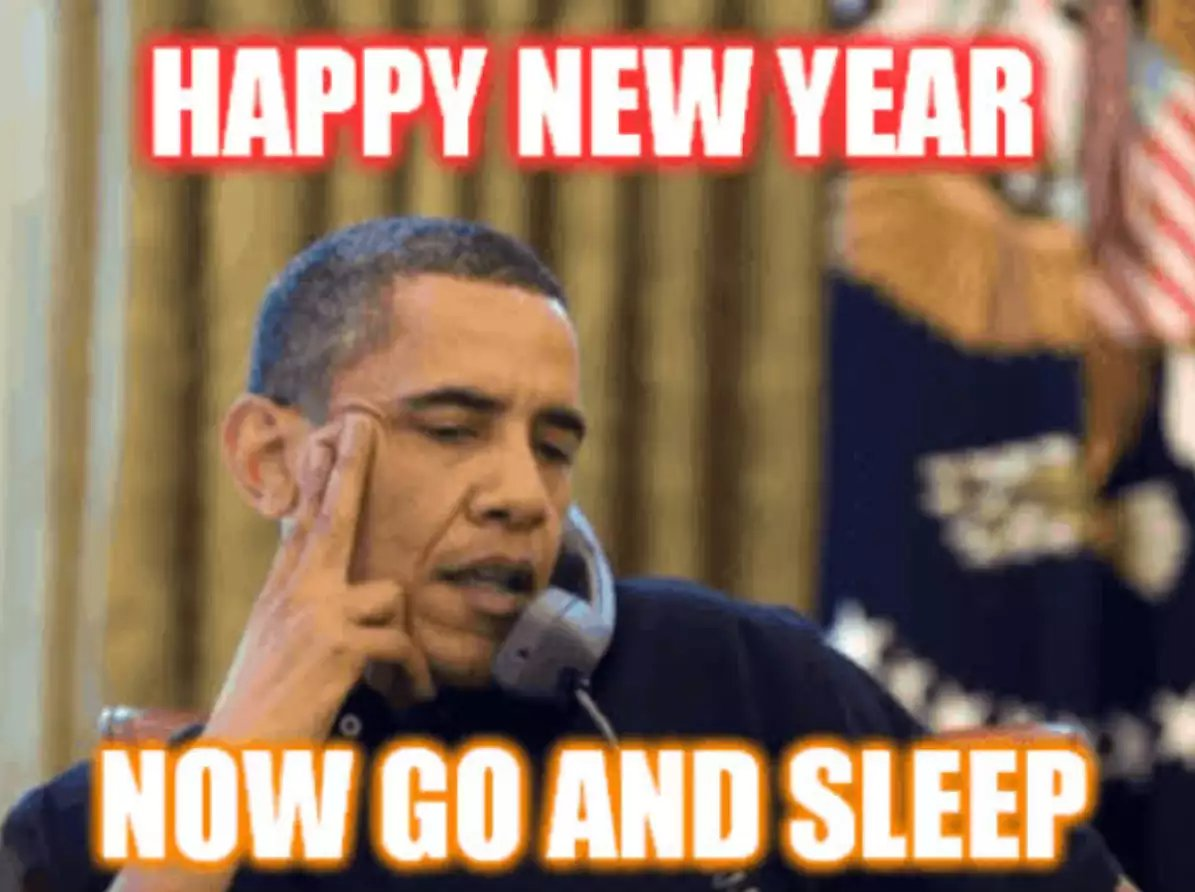 happy new year funny message