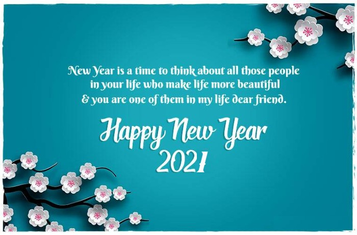 happy new year status wish