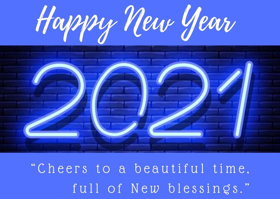 happy new year wishes for friends 2021