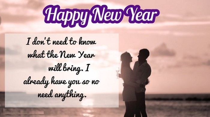 welcome new year message