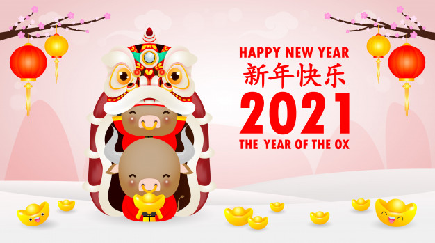 happy-chinese-new-year-2021-greeting-card-group-little-cow-holding-chinese-gold-lion-dance-year-ox-zodiac-cartoon-isolated-illustration-translation-greetings-new-year_83111-968