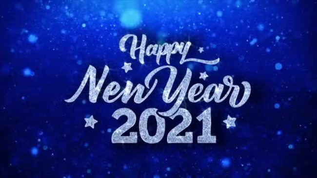 happy-new-year-2021-blue background with silver text